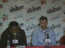 Press conference: W&M (Dec. 26, 2013)