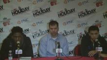 W&M press conference