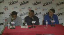 Press Conference: Moss Point (MS) (Dec. 26, 2013)