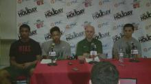 Press Conference: Kinston (Dec. 26, 2013)