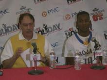 Press Conference: Garner (Dec. 26, 2013)