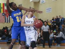 Broughton held on Thursday to beat Dudley 59-52 in the opening round of the Mix 101.5 Girls Bracket in the 2013 HighSchoolOT.com Holiday Invitational.