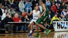 IMAGES: Kinston battles past Broughton in overtime, 49-46