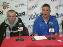 Press Conference: Clayton (Dec. 26, 2013)
