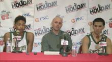 Press Conference: Kinston (Dec. 27, 2013)