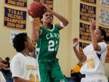 Cary senior forward Azura Stevens will play basketball for the Duke Blue Devils next season.