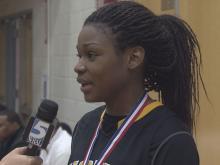 Girls MVP: Jamella Smith