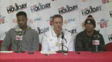Press Conference: Trinity  (Dec. 28, 2013)