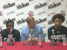 Press conference: Millbrook's Brown gets 1000th, Clemmons needs more shots