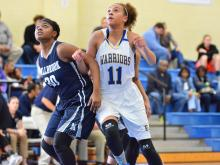 Girls Basketball: Millbrook vs East Wake (Dec. 26, 2014)