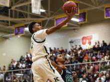 Boys Basketball:  Kinston vs Leesville Road (December 26, 2014)