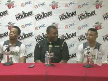Press conference: Knightdale wins with active D