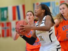 Girls Basketball: Athens Drive vs Knightdale (Dec. 27, 2014)