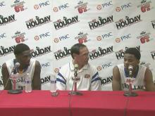 Garner press conference
