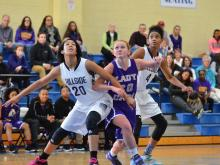 Girls Basketball: Broughton vs Hillside (Dec. 27, 2014)