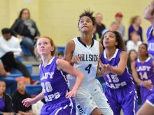 Girls Basketball: Broughton vs Hillside (Dec. 27, 2014)