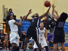 Girls Basketball: Riverside (Durham) vs Millbrook (Dec. 27, 2014