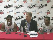 Press conference: Millbrook fouls, rebounds made the difference