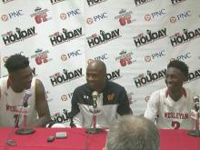 Press conference: Wesleyan's Giles 'highlights come when we play our game'