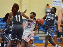 Girls Basketball: Riverside (Williamston) vs Athens Drive (Dec.