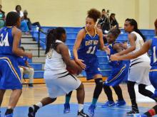 Girls Basketball: East Wake vs Knightdale (Dec. 29, 2014)