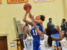 Girls Basketball: East Wake vs Knightdale (Dec. 29, 2014)