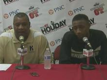 Press conference: Knightdale bench brought defense