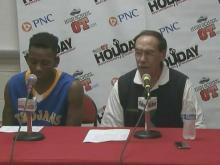 Press conference: Garner game plan a success
