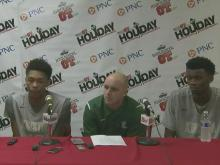 Press conference: Kinston wins on overall team effort