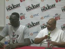 Press conference: Liberty center Tacko Fall's 'record kind of awesome'