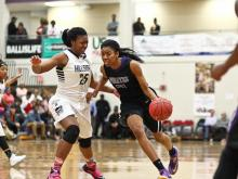 Girls Basketball: Riverside vs Hillside (Dec. 30, 2014)