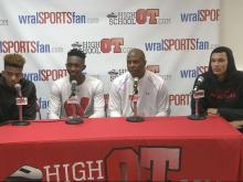 Postgame press conference: High Point Wesleyan (Dec. 30, 2015)