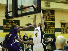 Holly Springs was looking for a win against Apex to stay in the playoff hunt, but suffered a setback in a 87-69 blowout loss on Tuesday night.