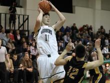 Boys Basketball: Chapel Hill vs. Cardinal Gibbons (Feb. 15, 2013)