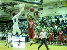 Millbrook saw a 40-17 erased to just three points, but the Wildcats managed to hang on and win 83-61 over Seventy-First.