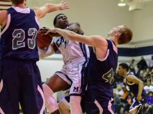 Boys Basketball: Leesville Road vs. Millbrook (Feb. 10, 2015)