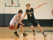 Boys Basketball: Cardinal Gibbons vs. Ravenscroft (Dec. 6, 2016)