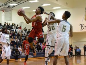 Boys Basketball: Rolesville vs. Knightdale (Dec. 8, 2016)
