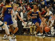 Boys Basketball: Garner vs. Cox Mill (Dec. 28, 2016)