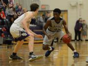 Boys Basketball: Heritage vs. Broughton (Jan. 13, 2017)