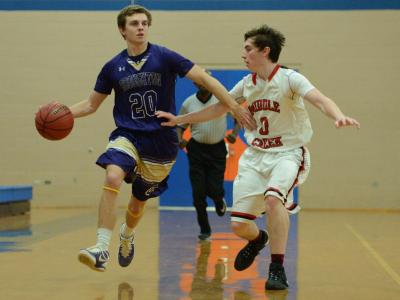 Boys Basketball: Broughton vs. Middle Creek (Jan. 16, 2017)