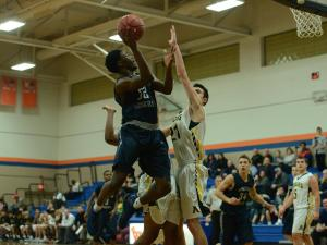 Boys Basketball: Heritage vs. Apex (Jan. 16, 2017)