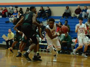 Boys Basketball: Enloe vs. Athens Drive (Jan. 16, 2017)