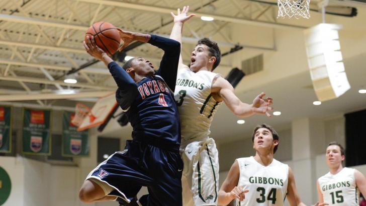 Boys Basketball: Voyager Academy vs. Cardinal Gibbons (Jan. 18,
