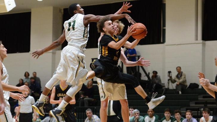 Boys Basketball: Chapel Hill vs. Cardinal Gibbons (Jan. 23, 2017