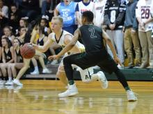 Boys Basketball: Green Hope vs. Apex (Jan. 31, 2017)