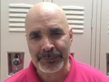 Cary head coach Allan Gustafson