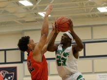 A big first quarter lifted Cary past Middle Creek and into the SWAC conference tournament championship game on Wednesday night.