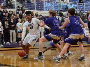 Boys Basketball: Broughton vs. Heritage (Feb. 16, 2017)