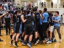 Cap 8 Boys Basketball Championship at Broughton High School - Fe